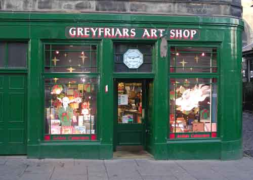 Art Shop greyfriars art shop